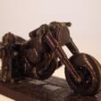 Free Harley Davidson STL file, Tini