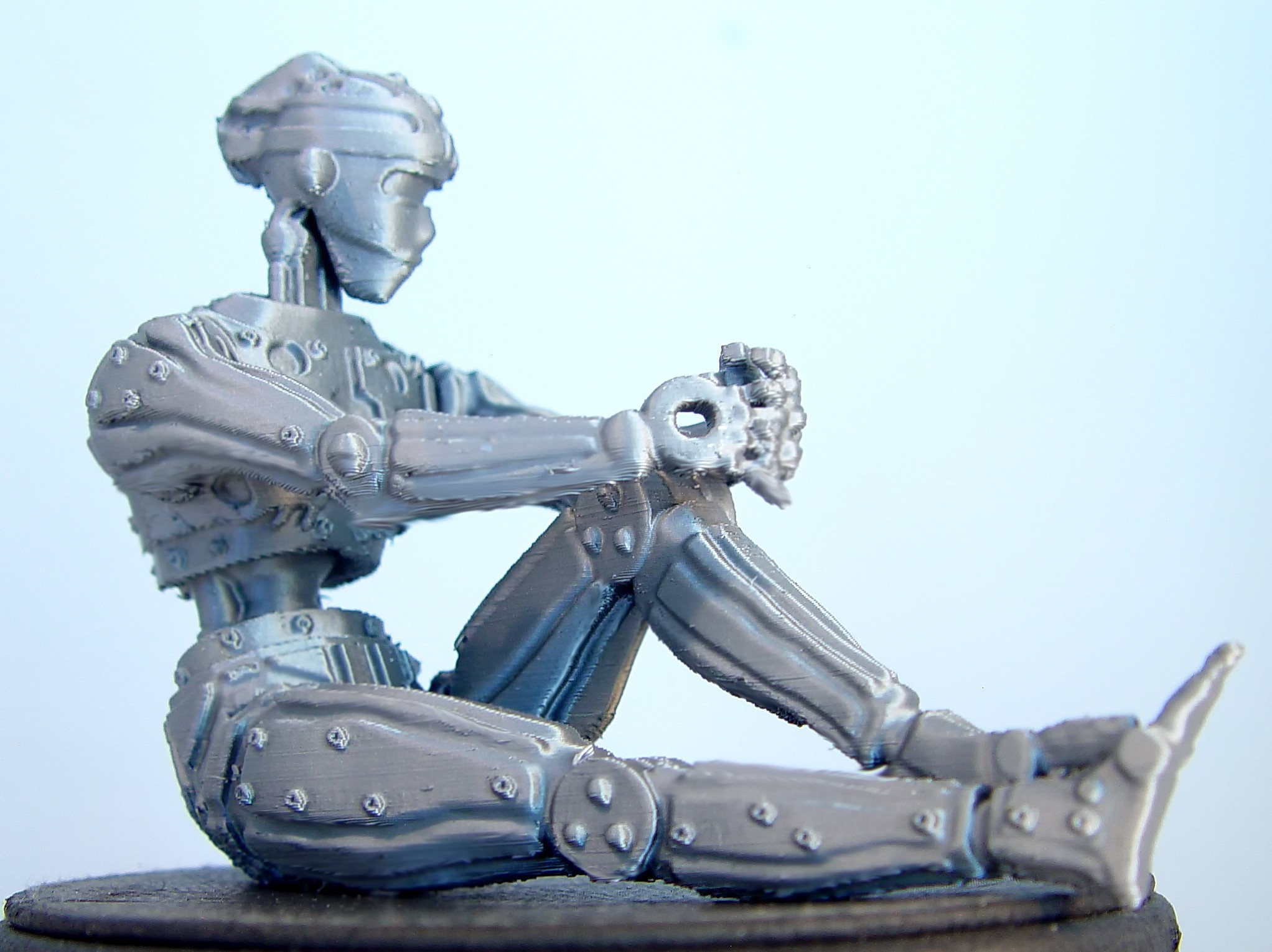 Female Humanoid Robot.jpg Download free STL file Female Humanoid Robot • Design to 3D print, Tini