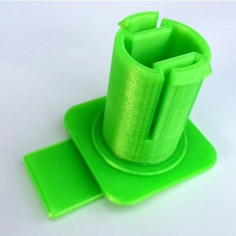 Spool_holder_1kg_forFlashforge2016_make.jpg Download free STL file Spool_holder_1kg_forFlashforge2016 • 3D print model, Pauerbuk