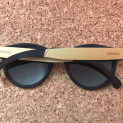 Download free STL files Komono Clement Leg SunGlasses, Gauthier