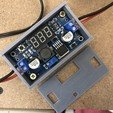 Download free STL Box for LM2596 DC-DC voltage regulator with display, Gauthier