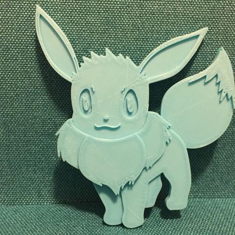 IMG_6943.jpg Download free STL file Eevee • 3D print template, upperpeninsulaplastics