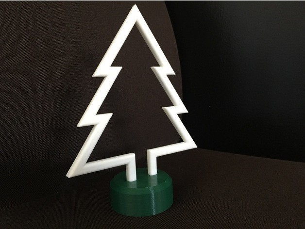 Angled Right.jpg Download free STL file Simple Christmas Tree • Model to 3D print, upperpeninsulaplastics