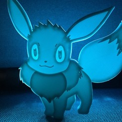 Free 3D printer model Eevee, upperpeninsulaplastics