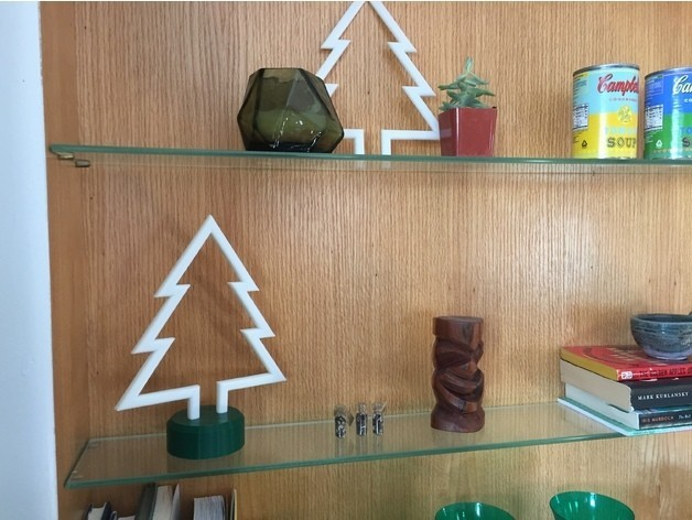 Other Shelf.jpg Download free STL file Simple Christmas Tree • Model to 3D print, upperpeninsulaplastics