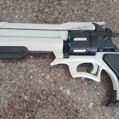 3D print model Mccree Peacekeeper Cosplay Prop, AlkinsDesigns