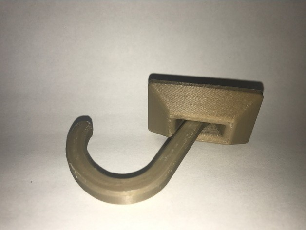 27c1918770e30a6a98d5ca880238f791_preview_featured.JPG Download free STL file Swinging Hook • 3D printer template, AlkinsDesigns
