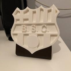 Modelos 3D para imprimir gratis Logotipo de la Barcelona ecuatoriana, Guillaume4