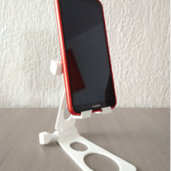 Download 3D printer designs CELL PHONE HOLDER BASE, JuanCarlosRivera