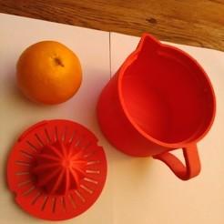 Descargar modelos 3D gratis Prensa naranja, mk25
