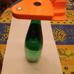 Free STL Plastic bottle opener, mk25