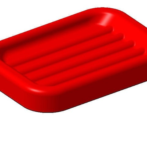 3D file soap dish, mk25