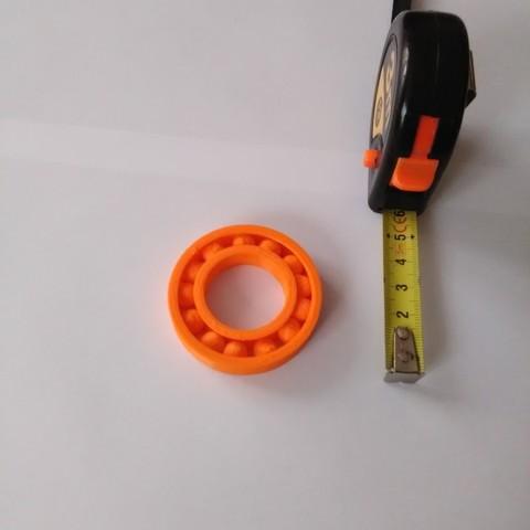 Download free STL file Bearing 28x52 lg10 • 3D printing object, mk25