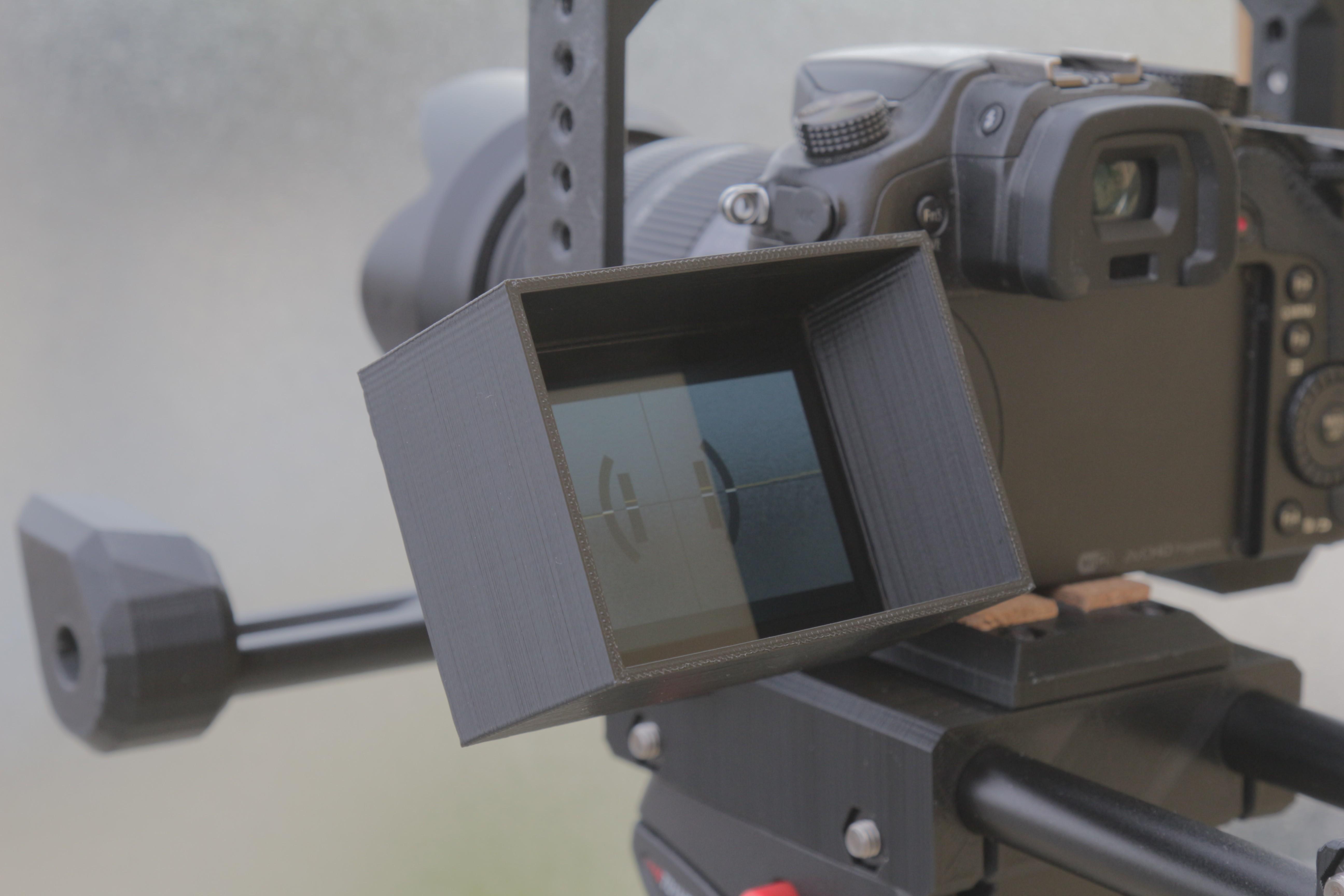 IMG_1266.JPG Télécharger fichier STL gratuit Pare soleil pour GH4 • Plan pour imprimante 3D, Clap3D
