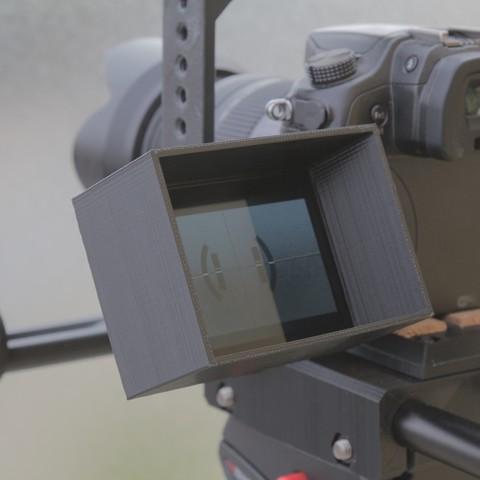 Télécharger fichier imprimante 3D gratuit Pare soleil pour GH4, Smile