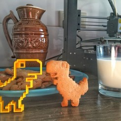 Download 3D printer model Dino, Dobryak