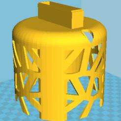 Imprimir en 3D gratis Silenciador de llamada de baño #DAGOMERLIN, jcmartens