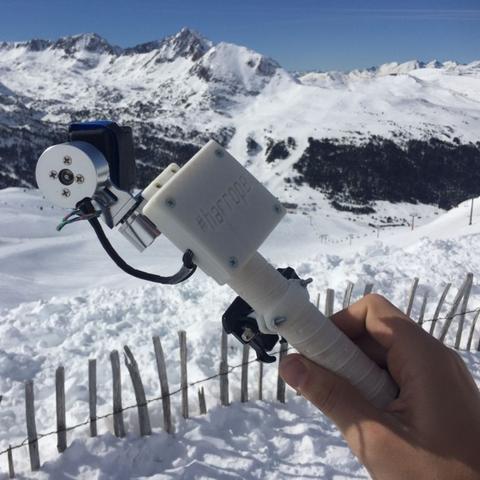 Diseños 3D gratis camera stabilizer GoPro, GuillermoMaroto