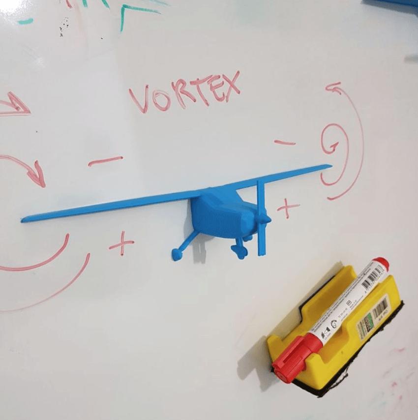 Capture d'écran 2018-05-04 à 11.18.57.png Download free STL file Airplane Model for Flight School • 3D printer design, FABtotum