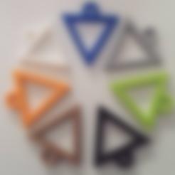 Download free STL files FABtotum Logo Keychain, FABtotum