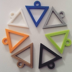 Free 3D printer designs FABtotum Logo Keychain, FABtotum
