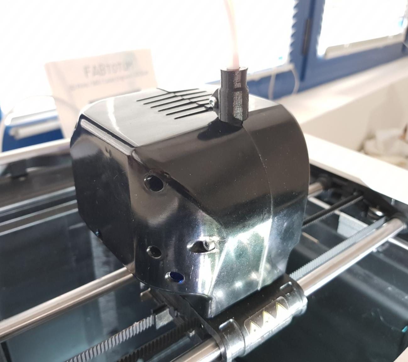 Capture d'écran 2017-11-10 à 09.58.48.png Download free STL file Palette+ Bowden tube adapter for FABtotum Printing Head PRO • 3D print design, FABtotum