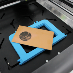 Free 3D printer designs FABtotum PCB Engraving fixture, FABtotum