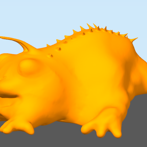 Free 3d printer files Small creature, Frozenkawa