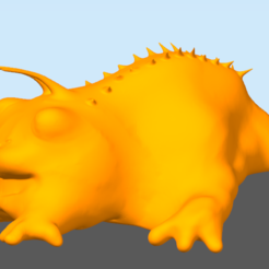 Download free 3D printing templates Small creature, Frozenkawa