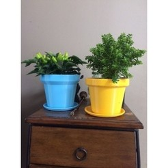"3D printer files Flower-pot ""So Classic"" 3dgregor, 3dgregor"