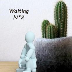 Modèle 3D Attente 2 !, gregordesign