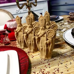 Download 3D printing designs Saint Nicolas 3dgregor, 3dgregor