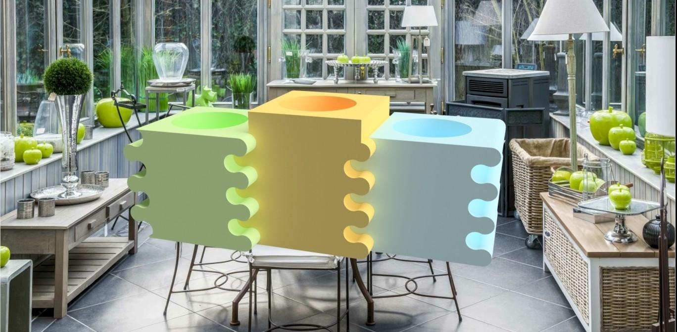 Ensemble vase puzzle.jpg Download OBJ file 3dgregor puzzle vase • Template to 3D print, 3dgregor