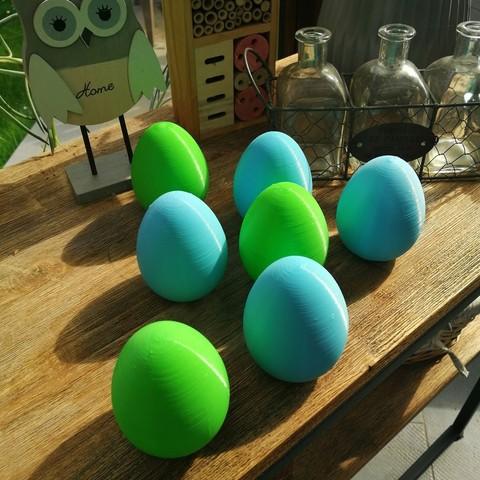 Archivos 3D Sólo un huevo 3dgregor, 3dgregor