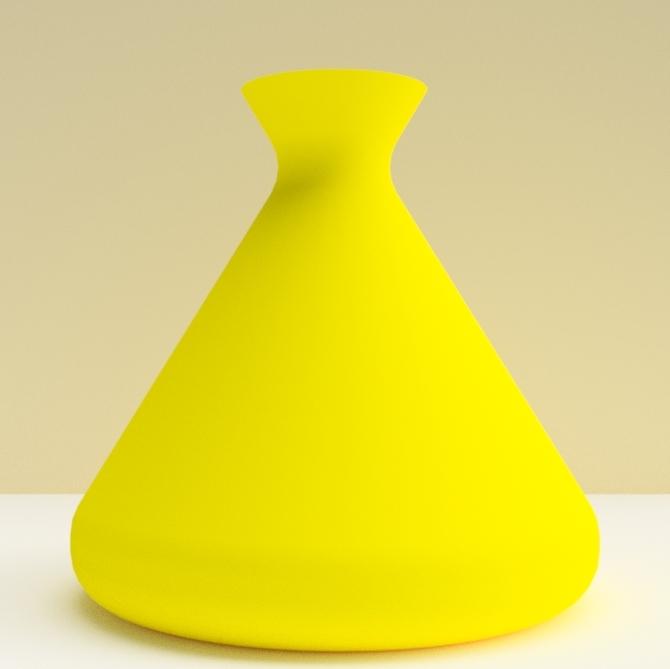 """tajine jaune.jpg Download STL file Vases """"TAJINE"""" 3dgregor • 3D printer design, 3dgregor"""