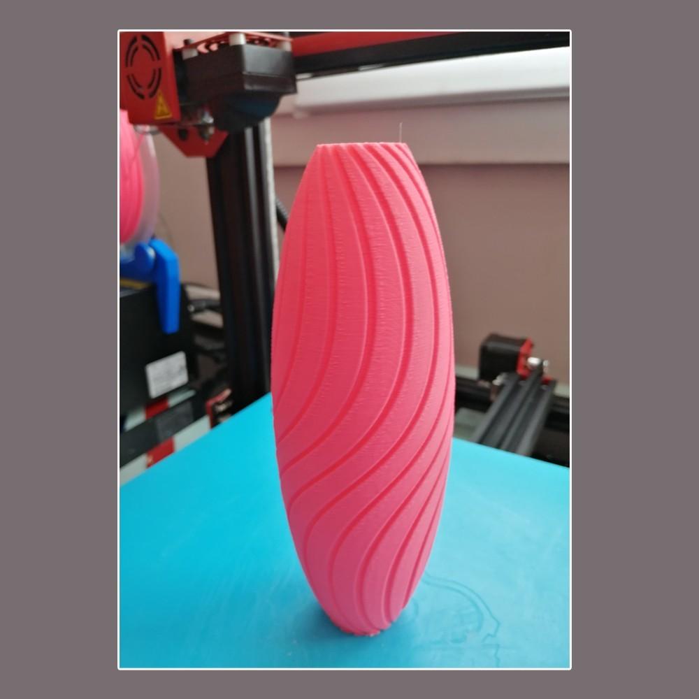 """photo-2.jpg Download STL file """"Wave motion"""" vase • 3D printable design, 3dgregor"""