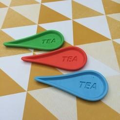 Download 3D printer designs Tea rest 3dgregor, 3dgregor