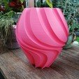 Download 3D printing templates Three twisted vases, 3dgregor