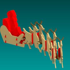 Archivo 3D Trineo de Santa Claus gratis, gregor