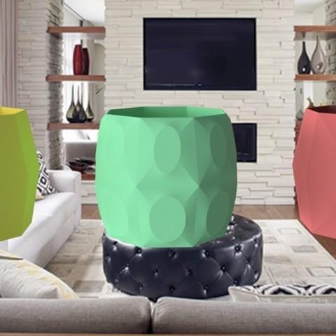"""Objet 3D vase """" octo """" 3dgregor, 3dgregor"""