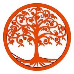arbre-de-vie-mural.jpg Télécharger fichier OBJ Arbre de vie mural • Plan imprimable en 3D, 3dgregor