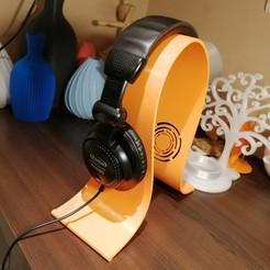 Headset-Stand-Gaming-3.jpg Télécharger fichier STL Headset Stand gamer • Design pour impression 3D, 3dgregor