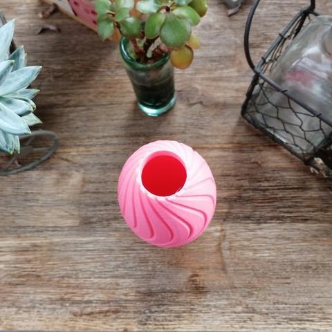 """photo.jpg Download STL file """"Wave motion"""" vase • 3D printable design, 3dgregor"""