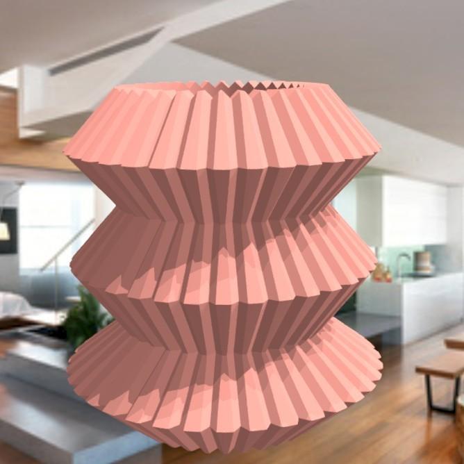 """vase-origami-1.jpg Download STL file vase """"ORIGAMI"""" 3dgregor • 3D print model, 3dgregor"""