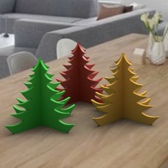 deco-de-table-noel-2.jpg Télécharger fichier OBJ christmas tree deco 3dgregor • Design imprimable en 3D, 3dgregor