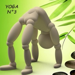 YOGA-N°3.jpg Download STL file Umen YOGA N°3 3dgregor • 3D printer model, 3dgregor
