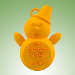 Modelos 3D muñeco de nieve MPN, 3dgregor