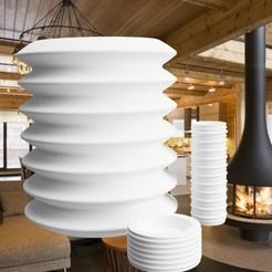 "Diseños 3D gratis Serie ""LAMPION"" 3dgregor, 3dgregor"