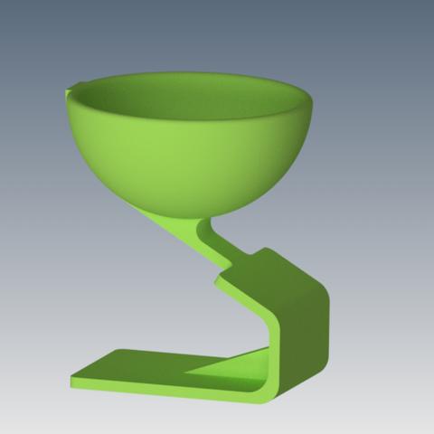 Download 3D printer designs egg cup, 3dgregor
