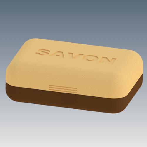 Ensemble boite a savon.png Download STL file Soap box for soap • 3D print template, 3dgregor